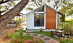 แบบบ้านชั้นเดียว สไตล์โมเดิร์นลอฟท์ ท่ามกลางธรรมชาติ งบประมาณ 450,000 บาท