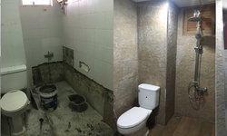 รีวิวการรีโนเวทห้องน้ำเก่าแบบฉบับตามใจฉัน คิดเอง ซื้อของเอง สไตล์บ้านๆ
