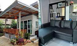 บ้านหลังน้อยแนวโมเดิร์น กะทัดรัด ตอบโจทย์การพักผ่อนที่เป็นส่วนตัว ก่อสร้างในงบเพียง 150,000 บาท