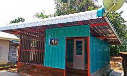"""แชร์ไอเดีย """"ต่อเติมห้องน้ำส่วนตัว"""" ออกแบบเรียบง่าย เพื่อการใช้งานที่สะดวกสบาย ในงบ 60,000 บาท"""