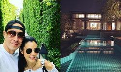 """บางทีก็คิดว่ารีสอร์ท """"บ้านเจ เจตริน"""" ราคา 60 ล้าน สระว่ายน้ำ สนามกอล์ฟ ฟิตเนส ครบ"""