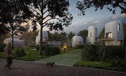 เนเธอร์แลนด์ทดลองสร้างบ้านจากเครื่องพิมพ์ 3 มิติหลังแรกของโลก ทนทาน รวดเร็ว