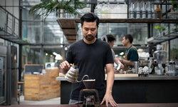 """""""น้อม"""" แท่นรองชงกาแฟ ได้รับรางวัล DEmark Award 2018"""