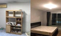 รีวิวเปลี่ยนห้องเน่า (ทรัพย์ยึด) ให้เป็นห้องสวยน่าอยู่ ใส่ใจทุกรายละเอียด ทุกตารางนิ้ว ฉบับมือใหม่