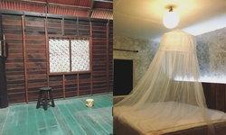 รีวิวแปลงโฉมห้องนอนไม้เป็นห้องนอนโมเดิร์นลอฟท์ เท่ๆ สไตล์ปูนเปลือย SAYA cafe & restaurant