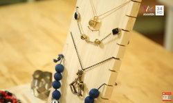DIY Organize Accessories ไอเดียที่แขวนเครื่องประดับ ของสาวยุคใหม่