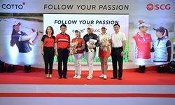 SCG และ COTTO ชวน 3 โปรกอล์ฟหญิงชื่อดัง ส่งต่อแรงบันดาลใจ สานฝันเยาวชนไทยสู่ระดับโลก