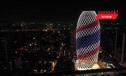 """เปิดตัวสุดอลังการ """"เพิร์ล แบงก์ค็อก"""" ตึกไข่มุกมูลค่า 3 พันล้าน แลนด์มาร์กใหม่ของกรุงเทพฯ"""