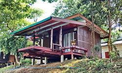 """""""บ้านต้นไม้"""" เรือนไม้ริมน้ำทรงเพิงหมาแหงน เรียบง่าย กะทัดรัด ออกแบบเพื่อการพักผ่อนท่ามกลางธรรมชาติ"""