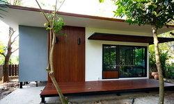 บ้านโครงเหล็กสำเร็จรูป สไตล์โมเดิร์น ออกแบบเพื่อความประหยัด ก่อสร้างรวดเร็ว ดีไซน์สวยงาม