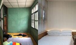 """รีโนเวท """"ห้องนอน 12.60 ตร.ม."""" ในดีไซน์ใหม่ แต่ยังคงกลิ่นอายเสน่ห์เดิมๆ ไว้ แบบบ้านชุมชนเก่า"""