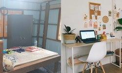 รีโนเวทบ้านพักครูให้กลายเป็นบ้านพัก Cool ด้วยงบเพียง 7,475 บาท