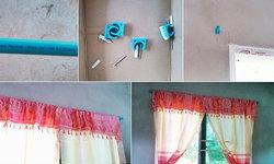 DIY รางผ้าม่านจากท่อ PVC ทำได้ง่ายๆ ราคาถูก ประหยัด แถมยังทนทานแข็งแรง ใช้งานได้จริง