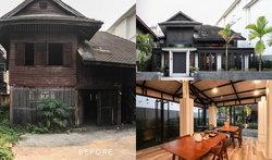 บ้านสองรุ่น รีโนเวทบ้านไม้เก่าที่เชียงใหม่สู่ Amata Boutique Villa ทันสมัยคงกลิ่นอายดั้งเดิม