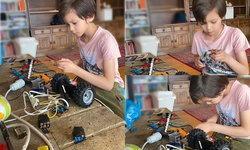 """""""อเล็ก"""" หนุ่มน้อยลูกครึ่งอีสาน-นอร์เวย์ แห่งครอบครัวโจแฮนเซน กับงาน DIYที่ทำให้แม่ตะลึง"""