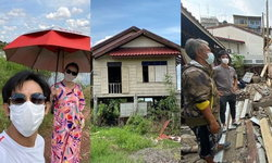 """""""มอส ปฏิภาณ"""" ตัดสินใจซื้อบ้านไม้เก่า เตรียมสร้างบ้านหลังใหม่"""