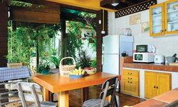 แบบครัวไทยนอกบ้าน ริมสวน โปร่งโล่ง บรรยากาศดีสุดๆ