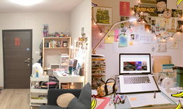 แชร์ไอเดีย 'จัดมุมทำงานส่วนตัว' น่ารักสดใส ได้แรงบันดาลใจมาจาก Pinterest