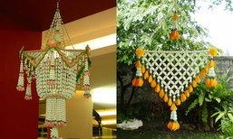 เปิดเรือนพี่หมื่น 'เครื่องแขวนดอกไม้สด' ของแต่งบ้านในอดีต ทั้งหอมและประณีต