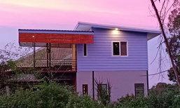 บ้านทรงโมเดิร์นลอฟท์ กะทัดรัดเรียบง่าย ตกแต่งภายในแนวปูนเปลือยในงบ 200,000+ บาท