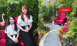 """Wonderland"" สวนแห่งความสุขของ 2 สาวผู้ชนะการจัดสวนจาก ""เทศกาลดอกไม้บ้านปาร์คนายเลิศ"""