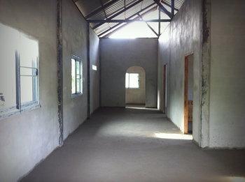 แบบบ้านชั้นเดียว 2 ห้องนอน 1 ห้องน้ำ 1 ห้องครัว และห้องรับแขก งบ 470,000 บาท