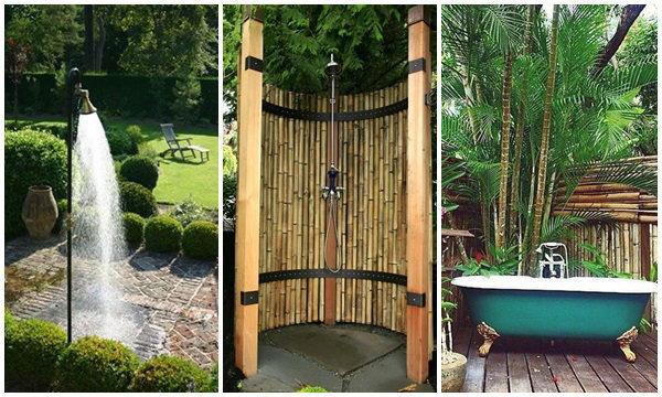 30 ห้องอาบน้ำในสวน กลางแจ้ง