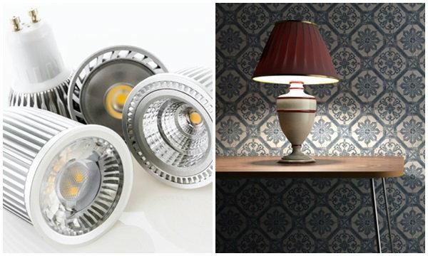 การเลือกใช้โคมไฟแบบต่างๆ