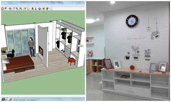 DIY ไม้กั้นห้อง เป็นเฟอร์นิเจอร์แต่งบ้าน ใช้เงินแค่ 3.5 หมื่น