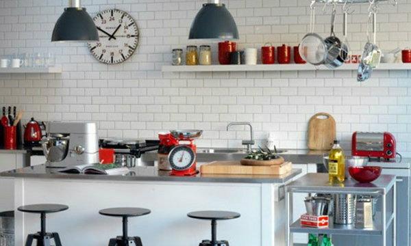 แบบห้องครัว ผนังกระเบื้อง 30 แบบ