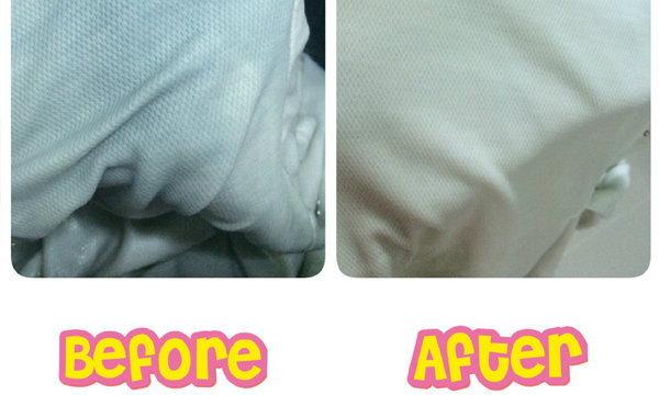 เย้!! แก้ปัญหาเสื้อขาวโดนผ้าสีตกใส่ กลับมาขาวปิ๊งมาก