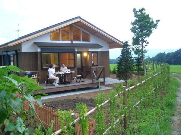 บ้านไม้ญี่ปุ่น กับวิถีชีวิตที่เรียบง่าย ปลูกผัก เพาะเห็ดกินเอง