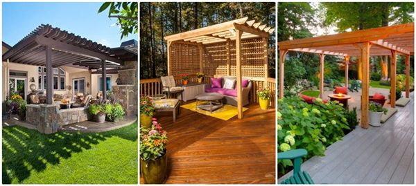 13 ไอเดีย ศาลาซุ้มไม้ระแนง แต่งสวนเพิ่มมุมพักผ่อนในบ้าน