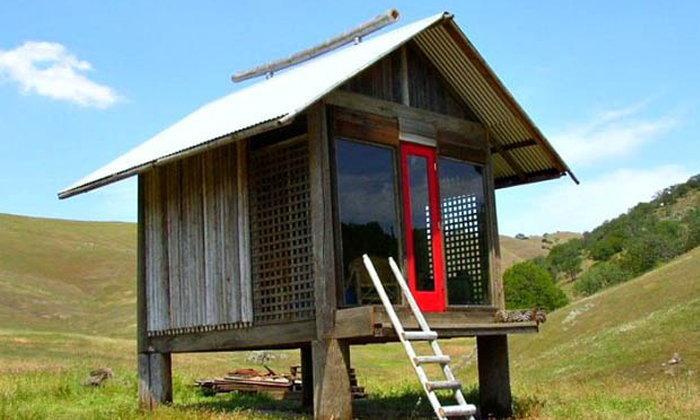 แบบบ้านเถียงนา (กระท่อมปลายนา) ทันสมัย เหมาะสร้างไว้เฝ้าไร่ นา สวน