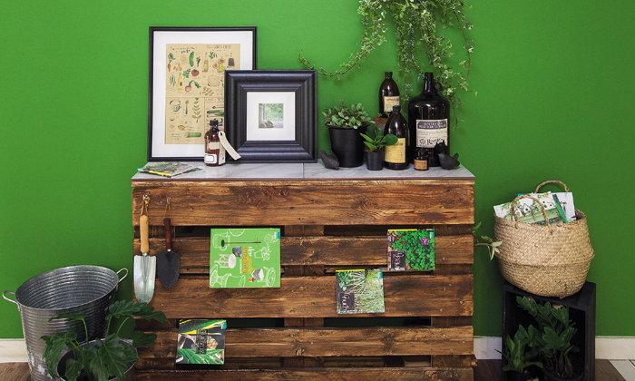 TropicalTable โต๊ะไม้พาเล็ตต์สไตล์ทรอปิคัล