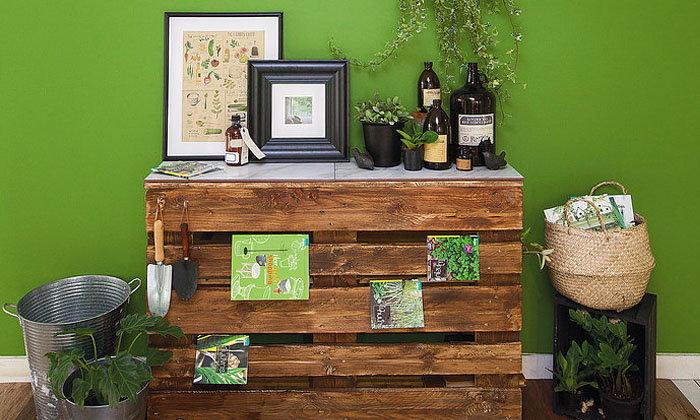 Tropical Table...โต๊ะไม้พาเล็ตสไตล์ทรอปิคัล