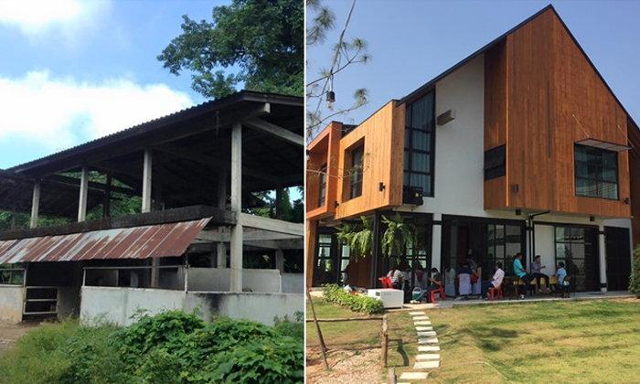 """ไอเดียการรีโนเวทคอกม้าเก่า ให้เป็นโรงแรมสุดชิค """"Karpenter Lampang"""""""