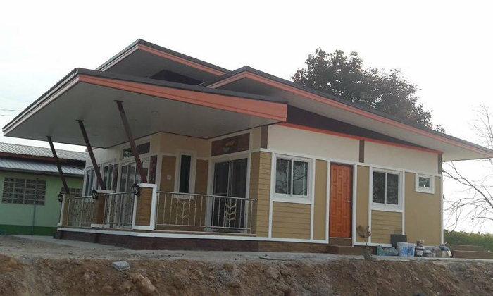 สร้างบ้านในงบก่อสร้าง 485,000 บาท ใช้เวลา 45 วัน บ้านคุณภาพเกินราคา