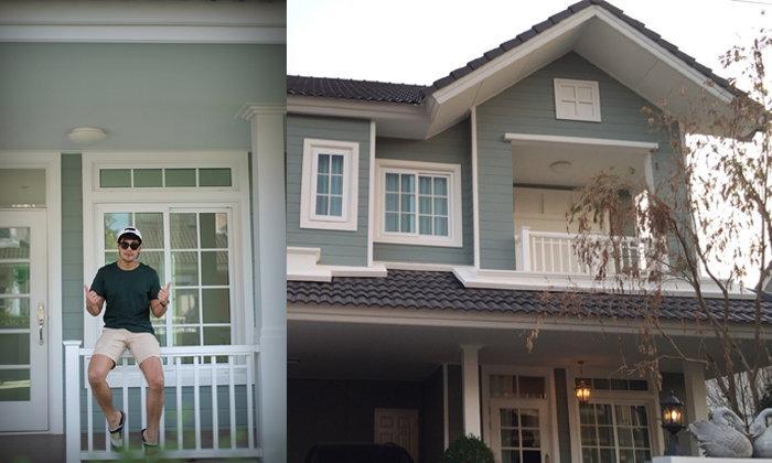 """เปิดบ้าน """"มังกร ปภาวิน"""" พระเอกละครช่อง 8 บ้านใหม่เซอร์ไพรส์พ่อแม่"""