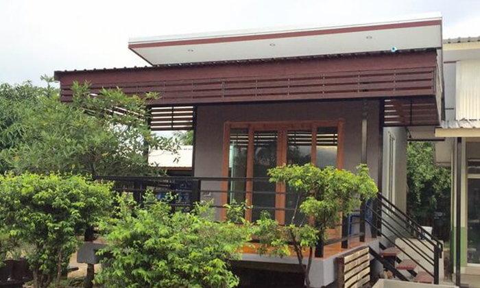 บ้านชั้นเดียวสวยๆ กับงบประมาณน้อย ๆ จบที่ 180,000 บาท