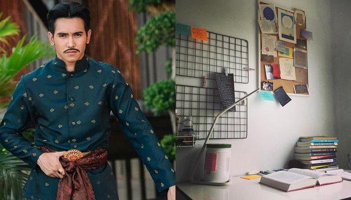 ห้องทำงานและโต๊ะวิสัยทัศน์ 'ก๊อต จิรายุ' หรือหลวงสรศักดิ์ จากละครบุพเพสันนิวาส
