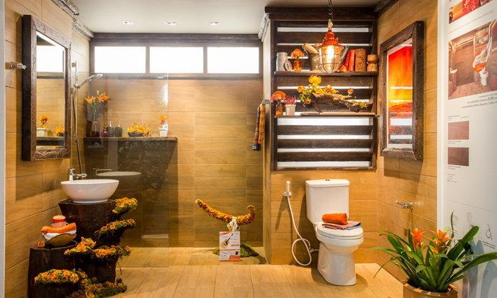 ครีเอทสไตล์ให้ห้องน้ำ ด้วยเคาน์เตอร์อ่างล้างหน้า