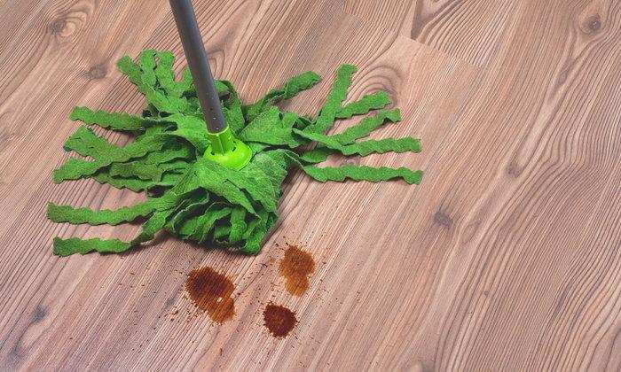 5 เคล็ดลับทำความสะอาดและปกป้องพื้นลามิเนต สวยทน สวยนาน