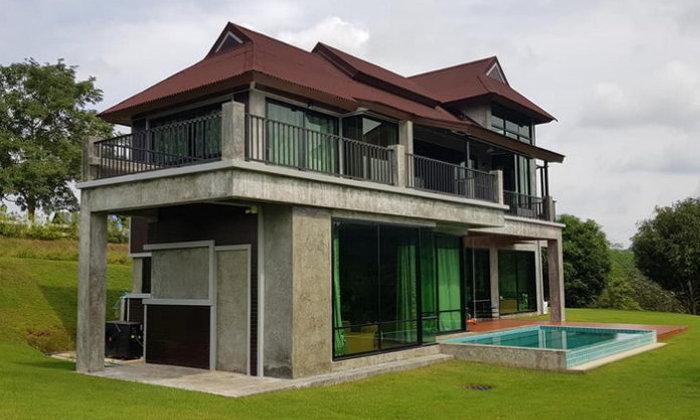 บ้านตากอากาศพร้อมสระว่ายน้ำ ตกแต่งสไตล์โมเดิร์นลอฟท์ ท่ามกลางบรรยากาศที่เหมือนอยู่บนสวรรค์