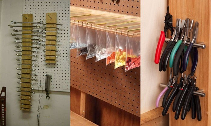 ไอเดียการออกแบบการจัดเก็บเครื่องมือช่างให้เป็นระเบียบน่ามอง