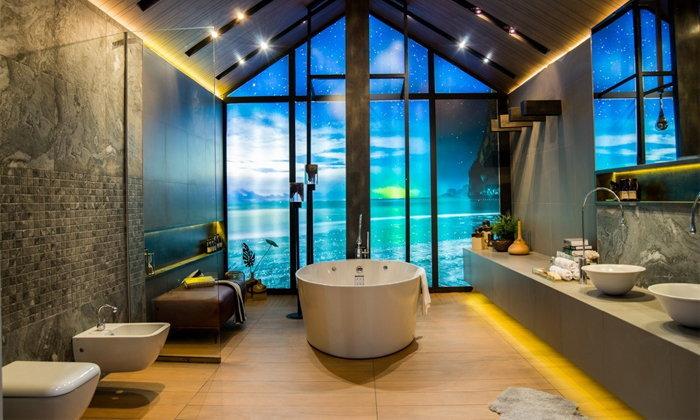 9 ไอเดียแต่งห้องน้ำด้วยอ่างอาบน้ำ