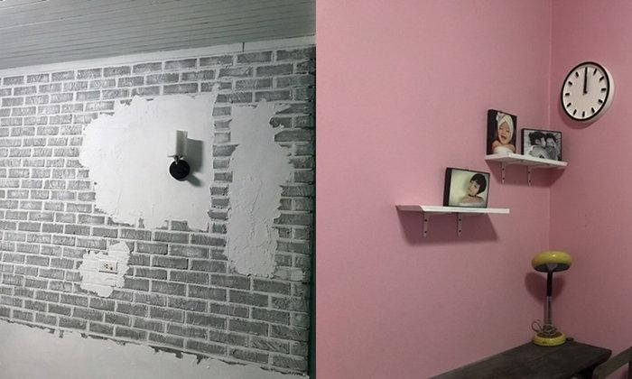 """""""DIY ผนังห้อง"""" เปลี่ยนบรรยากาศห้องใหม่ให้ไฉไลกว่าเดิม ด้วยงบประมาณไม่เกิน 3,000 บาท"""