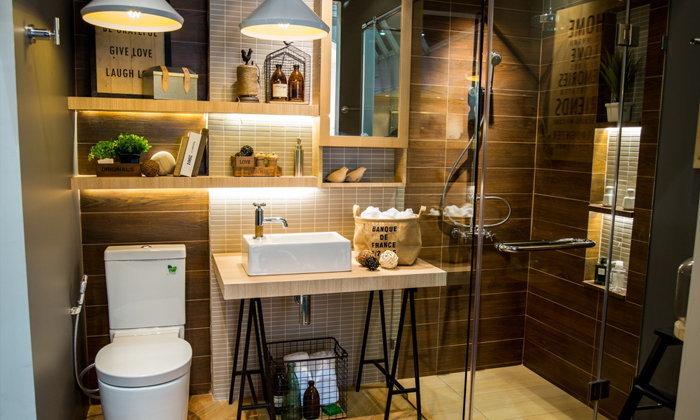 8 วิธีการเก็บของในห้องน้ำขนาดเล็ก เพื่อห้องสวยชนะเลิศ