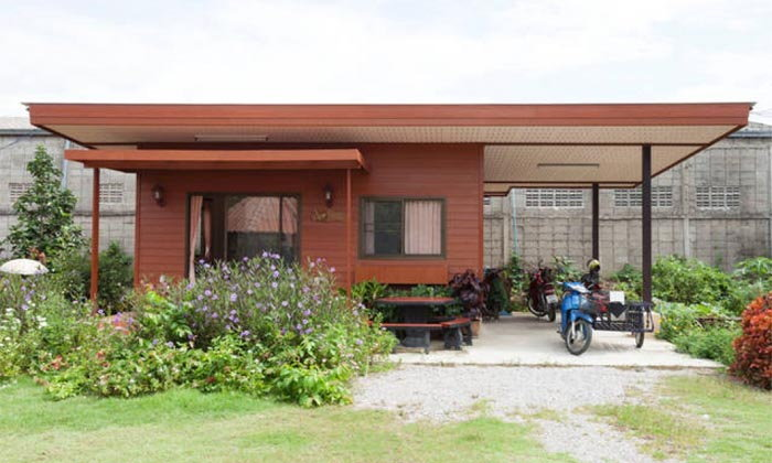 รีวิวบ้านชั้นเดียวขนาดเล็ก สวยน่ารัก ราคาประหยัด