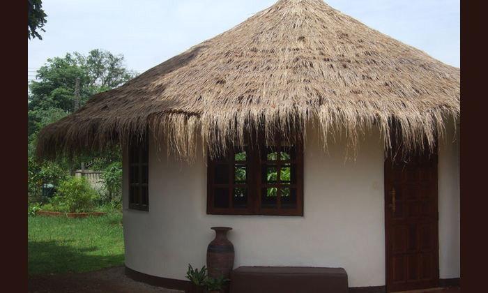 สร้างบ้านดินแบบธรรมชาติด้วยตัวเอง เรียบง่าย อยู่อาศัยสบาย ในราคาแสนถูก